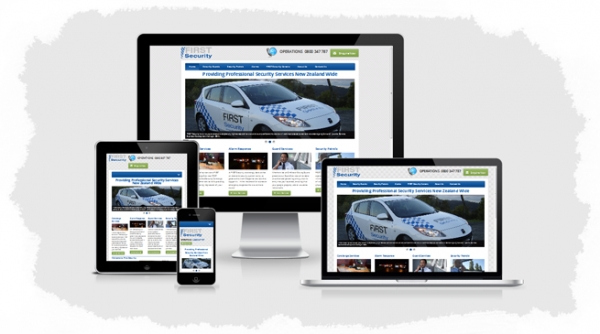 First Security - Mobile Responsive Website Design Launched