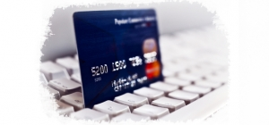 Online credit card payments.
